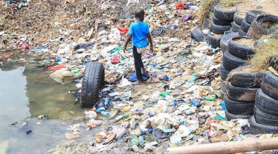 A dump in Tudor, Mombasa Kenya....