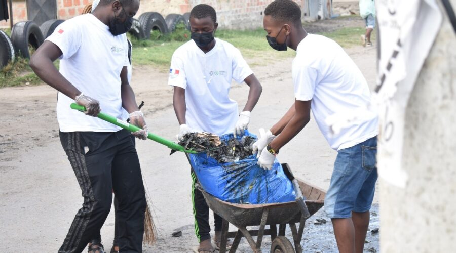 Clean Up Excercise in Tudor, Mombasa